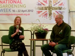 Sophie talks at RHS Garden Rosemoor
