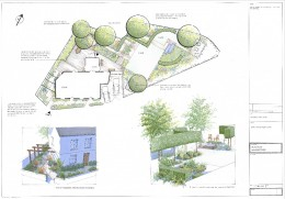 Plan View, Oxfordshire Family Garden