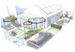 Sophie Dixon Associates: Eco Friendly Roof Terrace