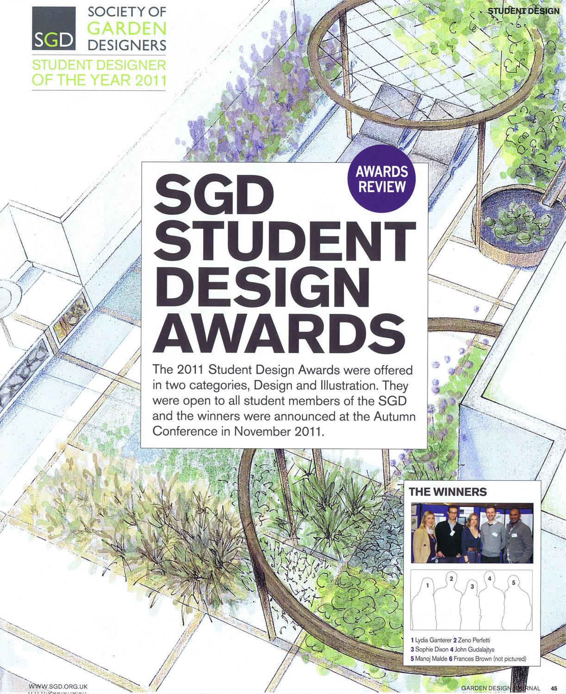 Media sophie dixon for Garden design journal